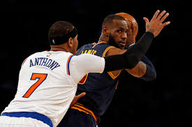 Carmelo Anthony Bench Press Carmelo Anthony And The Knicks Fall To The Defending Champs