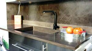plan travail cuisine beton cire beton cire plan de travail cuisine plan travail beton cire blanc