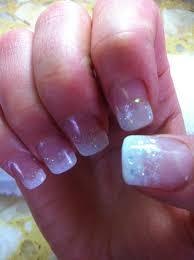 powdered gel nails design vj nails in calgary alberta nails