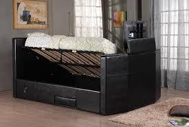 Kingsize Tv Bed Frame King Size Tv Bed Frame 2 Colours Passive Earner