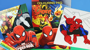 spiderman coloring pages kids color spiderman coloring