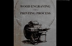 wood engraving wood engraving printing process