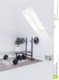 Home Gym Design Download Small Home Gym Stock Photo Image 54380308