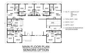 Most Efficient Floor Plans The Cassiar Elders Complex Prefab Home Plans Winton Homes