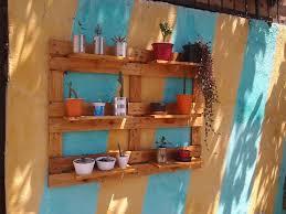 diy pallet garden wall planter shelving unit 99 pallets