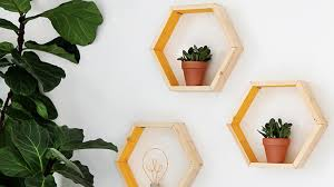 Diy Honeycomb Shelves by How To Build Diy Hexagon Shelves With Minimal Tools And Budget