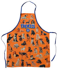 Aprons Printed Amazon Com Birds Apron Blue Clothing