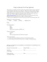 College Application Recommendation Letter Sample Sample Recommendation Letter For Travel Grant Cover Letter Templates