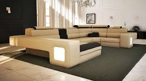 beige leather sectional sofa living room modern living room furniture set free shipping