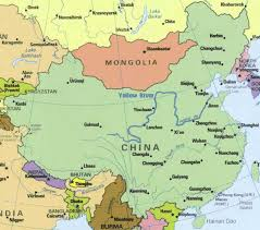 china on a map yellow river map huanghe map china yellow river maps