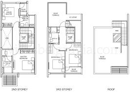 semi detached house floor plan belgravia villas floor plans semi detached upper levels home plans