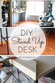 my diy standing desk project becoming me