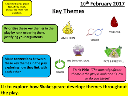 themes of macbeth act 2 scene 1 macbeth aqa new spec act 4 scene 1 key themes by ncaughey