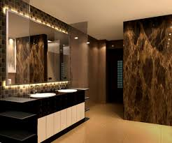 modern contemporary bathroom ideas with nice shower and bath tub