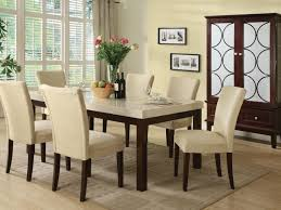 White Dining Room Sets Kitchen 63 White Marble Dining Table Set Perfect Dining Table