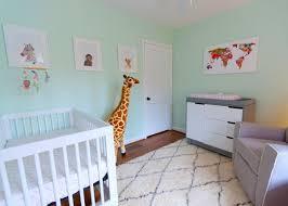 Green Nursery Decor Baby Nursery Adventurous Tastes A Mint Green Animal Themed