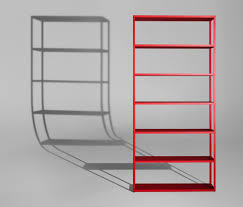 new order home vertical open shelf shelving from hay architonic