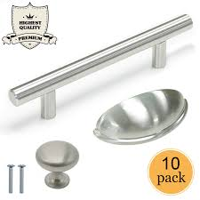 what is the best quality cabinet hardware 10x cabinet handles kitchen satin nickel stainless steel drawer knob shell pulls