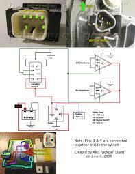 lexus sc300 headlight adjustment light leveling switch install for 03 oem hid housings newcelica