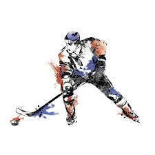34 hockey wall decals hockey player sticker wall decal sports personalized name wall decals kids wall art wall decal brands art