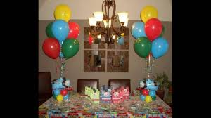 how to decorate for birthday party youtube