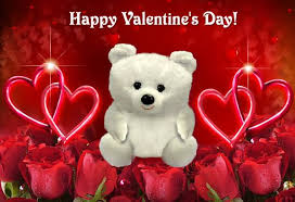 teddy valentines day happy s day teddy with flowers wallpaper
