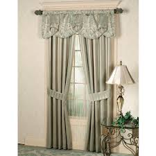decor cream jc penney curtains with white baseboard and dark side
