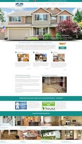 home remodeling website design rich color improvements the web mavens web design