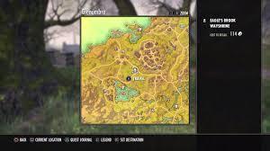 Stormhaven Ce Treasure Map Elder Scrolls Online Tamriel Unlimited Glenumbra Treasure Map 2