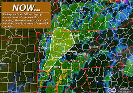 Tennessee Weather Map by The Weather Guy July 2013