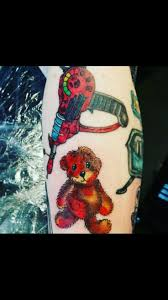 cool cartoon tattoos 12 best my tattoos and tattoos i love images on pinterest