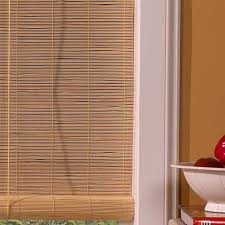 window blinds bamboo roll up ideas bathroom blackout motorized