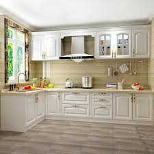 high quality solid wood kitchen cabinets china foshan factory high quality white oak solid wood