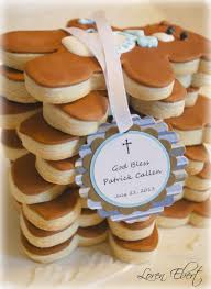 Baking Favors by The Baking Sheet Christening Cookie Favors For