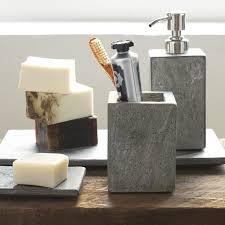 Modern Bathroom Sets Slate Bath Accessories Modern Bathroom Accessories West Elm