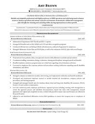 sle resume formats for experienced hr generalist resume template stunning adorable of manager in