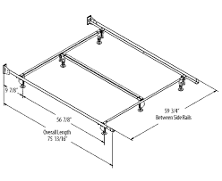 What Is The Width Of A Queen Size Bed Queen Bed Queen Bed Frame Size Steel Factor