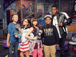 on set with the cast of nickelodeon u0027s u201cgame shakers u201d premiering