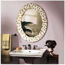 ideas decorative bathroom mirrors pertaining to beautiful