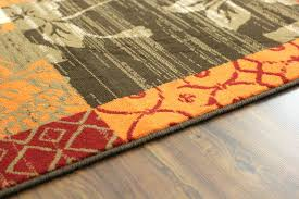 Orange Area Rug Marvelous Gray And Orange Area Rug Classof Co