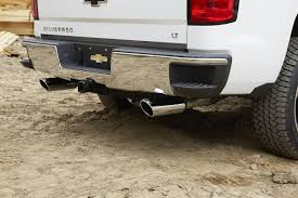nissan frontier exhaust tip an oem exhaust system is a great upgrade for your chevy silverado
