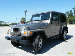 2006 light khaki metallic jeep wrangler sport 4x4 right hand drive