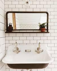 Best  Trough Sink Ideas On Pinterest Sink Inspiration Rustic - Bathroom sink mirror
