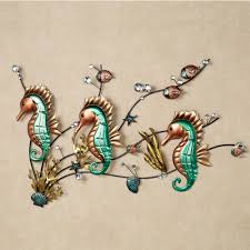 target wall decor metal seahorse wall art unique wall art decor on outdoor metal wall art