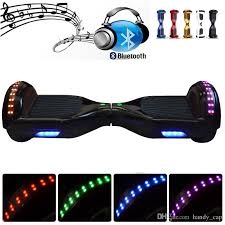 electric skateboard led lights io chic smart scooter ul2272 hoverboard safest drifting board io