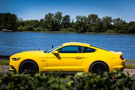 the with the blue mustang 2017 ford mustang gt the legendary blue collar coupe