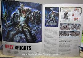 white dwarf issue 29 review grey knights fully revealed the