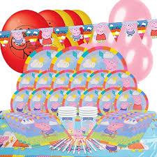 peppa pig birthday supplies peppa pig party theme partyrama co uk