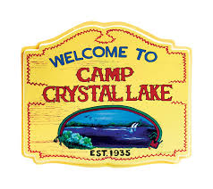 Crystal Home Decor Wholesale Camp Crystal Lake Sign Standard Amazon Ca Home U0026 Kitchen