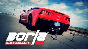 2014 corvette stingray exhaust 2014 c7 exhaust system sounds preview borla